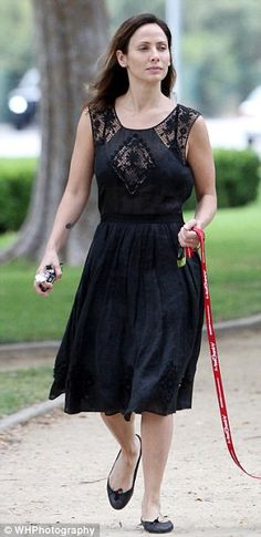 Natalie Imbruglia wearing London Sole / French Sole 'India' whilst walking her dog in Los Angeles. Follow Natalie's look and head to: www.frenchsole.com or for our American customers, visit: www.londonsole.com  #natalieimbruglia #lastyle #frenchsole #londonsole #india #ballet #flats #london #style #fashion #shoes  French Sole