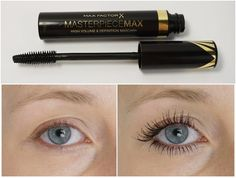 Try Max Factor Masterpiece mascara and high precision eyeliner pen for that perfect cat eye look! Beauty Kit, My Beauty, Beauty Makeup, Eye Makeup, Beauty Review, Beauty Stuff, Max Factor Mascara, Beste Mascara, How To Apply Mascara