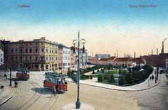 transpress nz: historic Cottbus trams, Germany