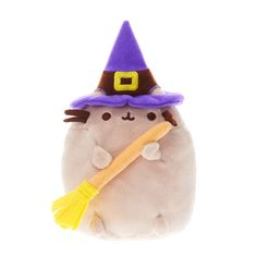 Pusheen Halloween Witch Soft Toy