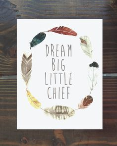 little chief, $12 from yellow bungalow shop. So so cute for a boys room or nursery!