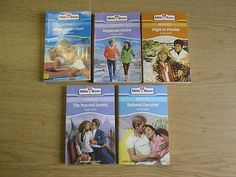 5 x Flora Kidd Mills & Boon Romance Novels: TITLES: 1. Beloved Deceiver; 2. The