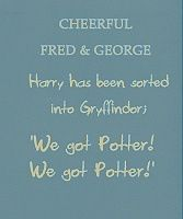 Cheerful Fred and george
