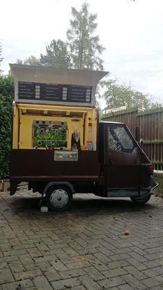 nová nástavba na rozšířené verzi APE Piaggio Ape, Coffee To Go, Van, Vans, Vans Outfit