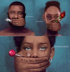 Image shared by Jessou Tremblay. Find images and videos on We Heart It - the app to get lost in what you love. Black Love Art, Black Girl Art, Art Girl, Digital Foto, Deep Art, Powerful Art, Black Art Pictures, Black Artwork, Magic Art
