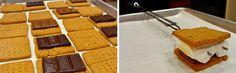 Homemade Chai Tea Graham Cracker S'mores!!!