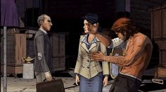 We've Already Found The Best Video Game Bug of 2014 BOW CHIKKA BOW BOW  From A Wolf Among Us.