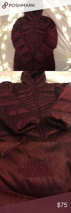 BRAND NEW NORTH FACE winter coat. A maroon colored VERY WARM BRAND NEW NORTH FACE winter coat. Size 7 in juniors. THIS IS A DEAL!!! The North Face Jackets & Coats Puffers