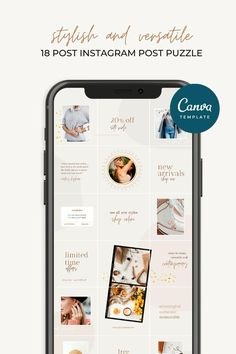 Iphone Reminders, Instagram Grid, Instagram Posts, Social Media Page Design, Best Digital Marketing Company, Social Media Quotes, Grid Layouts, Instagram Post Template, Canvas Quotes