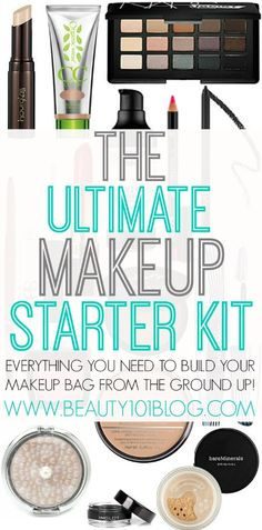 Looking to update your #makeup kit? Or are you new to makeup and arent sure what to buy? This list has you covered! #beauty #makeuptips http://crazymakeupideas.com/tips-for-summer-makeup/