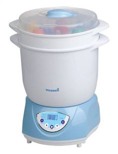 Weewell Sterilizatör-Kurutucu-Mama Isıtıcı WSB160