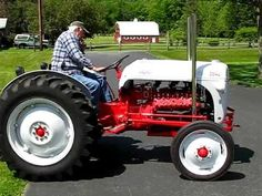Eight Cylinders, No Waiting - 1952 Ford 8N flathead V8 conversion | Old, Tractor, Acreage Toys