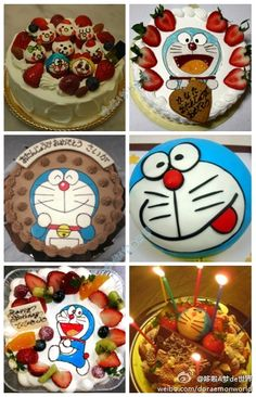 Doraemon cakes!