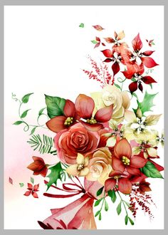 Victoria Nelson - Floral Xmas 2 Copy