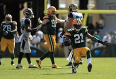 Ha Ha Clinton-Dix #21 of the Green Bay Packers reacts to making an interception during a game against the Jacksonville Jaguars at EverBank Field on Sept. 11, 2016 in Jacksonville, Florida.