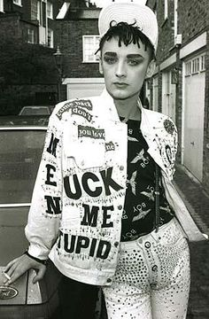 Boy George London 1986