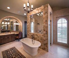 Master Bath Floor Plan With Walk Through Shower Google