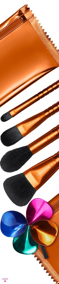 M·A·C 5-Pc. Shiny Pretty Things Face Focus Brush Party Set Limited Edition #maccosmetics #beauty #makeupandbeauty Cosmetic Brushes, It Cosmetics Brushes, Makeup Brushes, Mac Cosmetics, Beauty Bar, Beauty Makeup, Hair Makeup, Macys Black Friday, Makeup Forever
