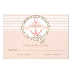 ==>>Big Save on          Pink Anchor and Nautical Stripes RSVP Card           Pink Anchor and Nautical Stripes RSVP Card you will get best price offer lowest prices or diccount couponeHow to          Pink Anchor and Nautical Stripes RSVP Card Review on the This website by click the button b...Cleck Hot Deals >>> http://www.zazzle.com/pink_anchor_and_nautical_stripes_rsvp_card-161170931857163315?rf=238627982471231924&zbar=1&tc=terrest