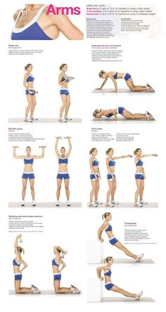 Workout - Exercises - Fitness for Arms