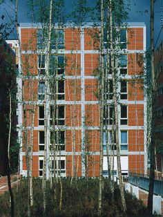 Rue de Meaux Housing, Paris (France) - RPBW Renzo Piano Building Workshop
