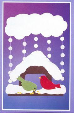 creativ ideen bastell ideen fuer weihnachten jana rakovska picasa webalb - New Deko Sites Winter Art Projects, Winter Project, Winter Crafts For Kids, Art For Kids, New Year's Crafts, Diy And Crafts, Paper Crafts, Toddler Crafts, Preschool Crafts