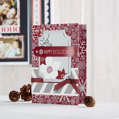 Sparkling Happy Holidays CardSparkling Happy Holidays Card