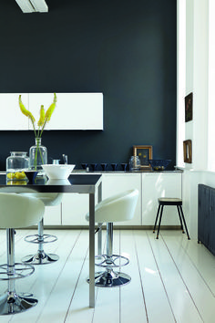 "Little Greene Gebruikte ""GREY"" kleuren: Lamp Black 228, Loft White 222 & Shallows 223"