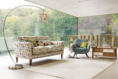 Retro-style furniture with a modern twist ... Laura Ashley's Off the Wall range. Can you believe this is Laura Ashley? Great re-branding!