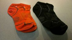 Smartwool Mens 2 Lot Run Light Micro Socks Size Large Orange Black 014 | eBay