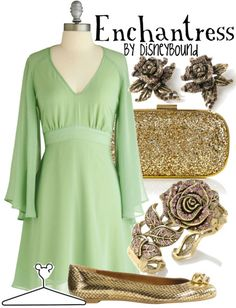 such a perfect dress for the beautiful enchantress who casts a spell on the beast :)