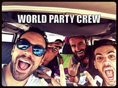 World Party TV Show in Australia II, Alpha TV, with Sakis Tanimanidis Georgios Mavridis. 6 May 2014, 21:45