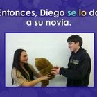This 47-slide PowerPoint and activities is a story about a boy who tries to impress a girl with Sra. Torre's teddy bear.  He steals the bear and gi...