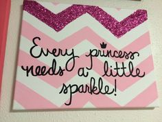 Quote painted on canvas