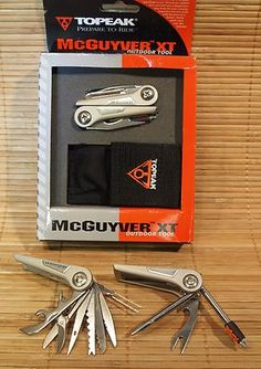 McGUYVER XT TOPEAK OUTDOOR MULTI TOOL 16 FUNCTION