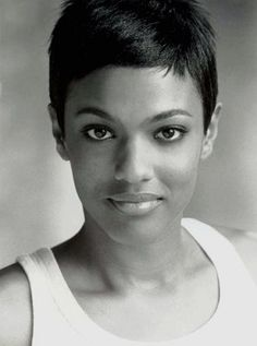 The always lovely Freema Agyeman, who played Martha Jones. Simply GORG with the pixie cut.