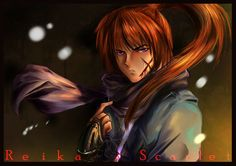 """""""What is your name, boy?A name too gentle for a swordsman. From now on, your name will be Kenshin. What is your name, boy ? Rurouni Kenshin, What Is Your Name, Social Community, Samurai, Carving, Fan Art, Deviantart, Future, Artist"""