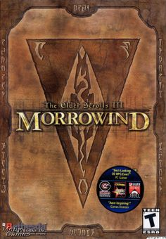 Elder Scrolls III: Morrowind  Morrowind was the best best of the Elder Scrolls period! Game On!  #retrogaming #morrowind