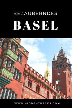 The City of Basel is often overlooked. Read in the article why a trip beyond the Swiss Alps is so rewarding. Travel Guides, Travel Tips, Travel Info, Travel Around The World, Around The Worlds, Places To Travel, Places To Go, European Travel, Travel Europe