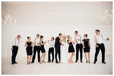Wedding Photo Ideas and Poses - Wedding Party (1)