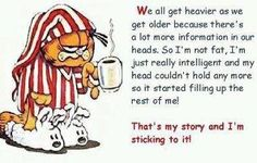 That's my story and I'm sticking to it!