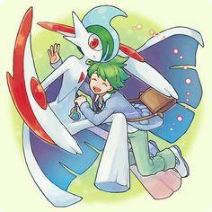 Pokemon Trainer: Wally & Gallade