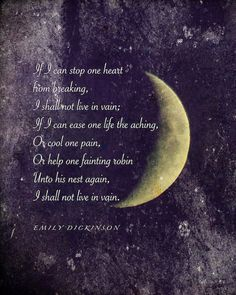Emily Dickinson poem Crescent Moon photograph with quotation word art poetry art inspiring words moon photo quote Poetry Art, Poetry Quotes, Words Quotes, Life Quotes, Slam Poetry, Full Moon Quotes, Moon Poems, Emily Dickinson Quotes, Poetry Inspiration