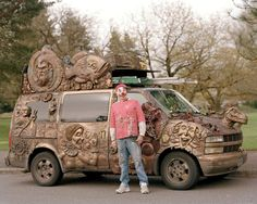 I've met this man and van many times. I even have some of his art hung up in my house.  He is good people.