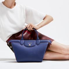 Longchamp Spring 2017 collection. Discover it on www.longchamp.com Style Fashion, Womens Fashion, My Bags, Beautiful Bags, Longchamp, Women's Accessories, Leather Bag, Totes, Happiness