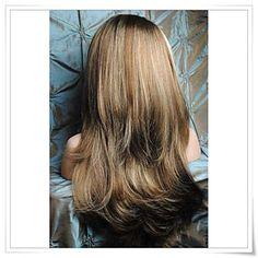 """8 """"-22"""" 100% capelli umani vergini brasiliani diritto glueless del merletto / anteriore del merletto parrucche foto a colori # 6/12/24 di – EUR € 95.00"""