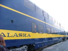 Alaska Train from Fairbanks to Anchorage via Denali