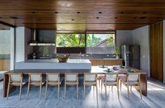 Green Architecture, Amazing Architecture, Contemporary Architecture, Surf Design, Common Area, Wooden Flooring, Ground Floor, Home And Family, Interior Design