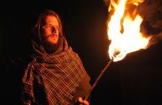 Nacht der keltischen Feuer im Urgeschichtemuseum in Asparn/Zaya
