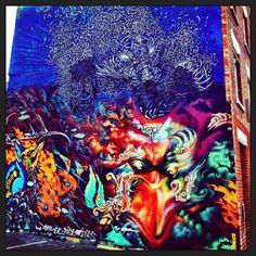 #Sorow and #neist #graffiti 2, Sclater Street, E2 #streetart